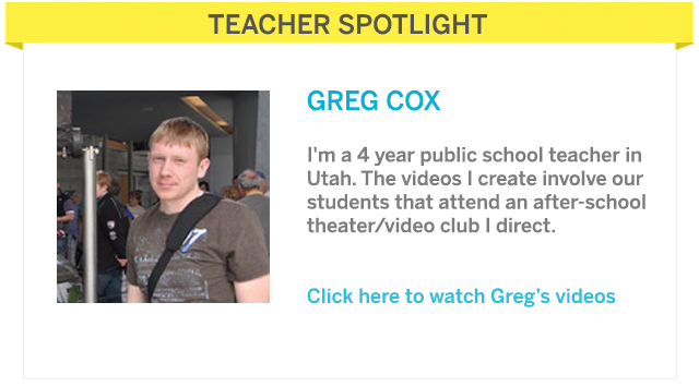Project Ed Teacher Spotlight - Greg Cox